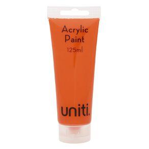 Uniti Acrylic Tube Orange 125ml
