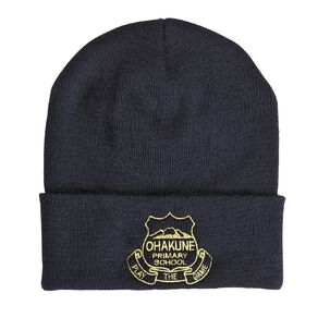 Schooltex Ohakune Beanie with Embroidery