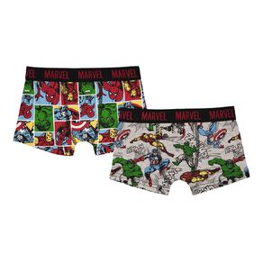 Marvel Boy's Trunk 2 Pack
