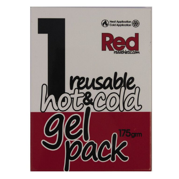 Red Reusable Hot/Cold Pack, , hi-res image number null