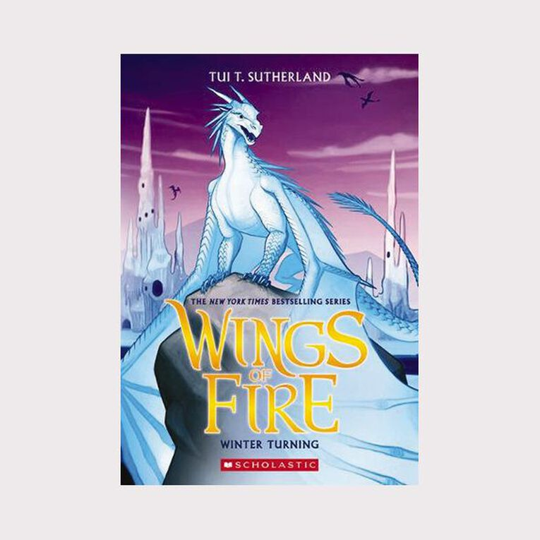 Wings of Fire #7 Winter Turning by Tui T Sutherland, , hi-res