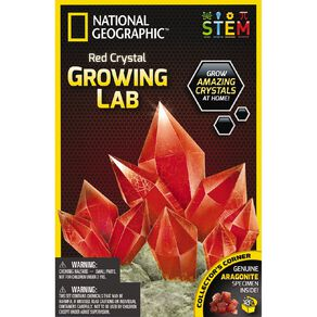 National Geographic Crystal Growing Kit Assorted