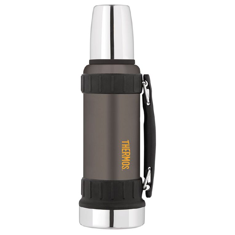 Thermos Insulated Work Flask Grey 1.2L, , hi-res