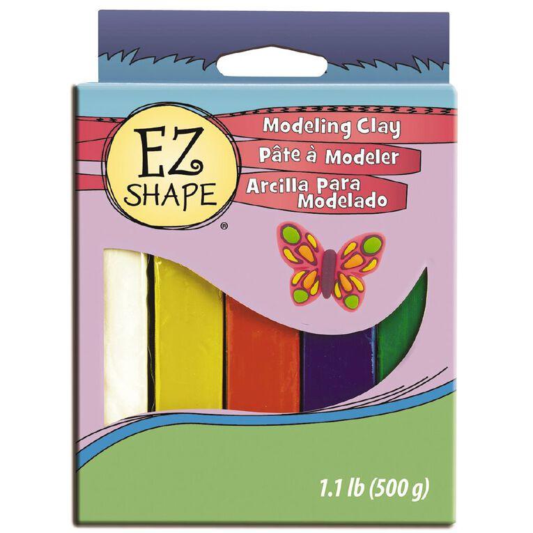 Sculpey EZ Shape Modelling Clay Set 5 Primary Colour, , hi-res