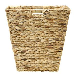 Living & Co Water Hyacinth Square Basket Natural Large