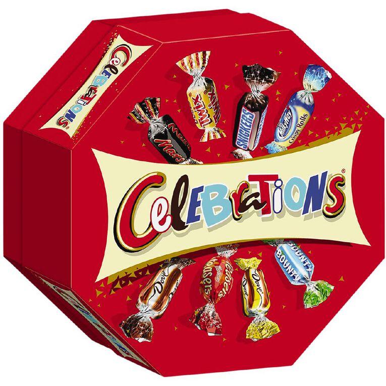 Mars Celebrations Chocolates 186g, , hi-res