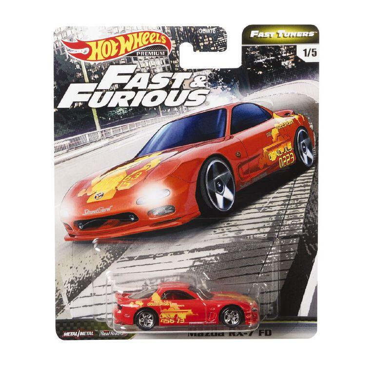 Hot Wheels Fast & The Furious Premium Single Assorted, , hi-res