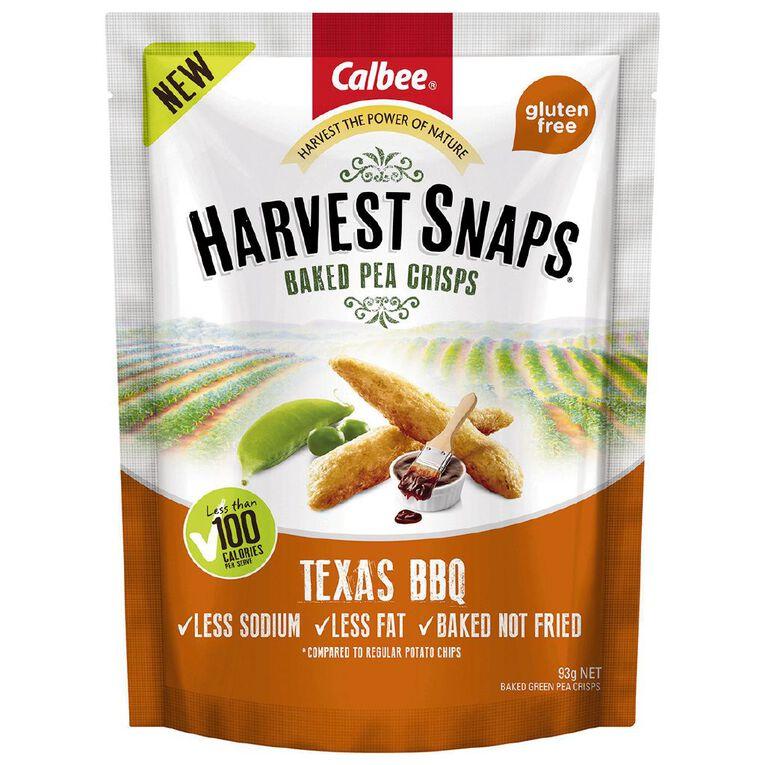 Calbee Harvest Snaps Texas BBQ 93g, , hi-res