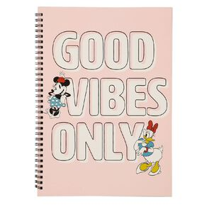 Minnie Mouse Q2 Softcover Spiral Notebook A4 Pink