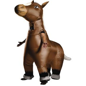 Rubies Generic Mr Horsey Inflatable Horse Costume One Size