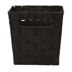 Living & Co Woven Basket Black Small