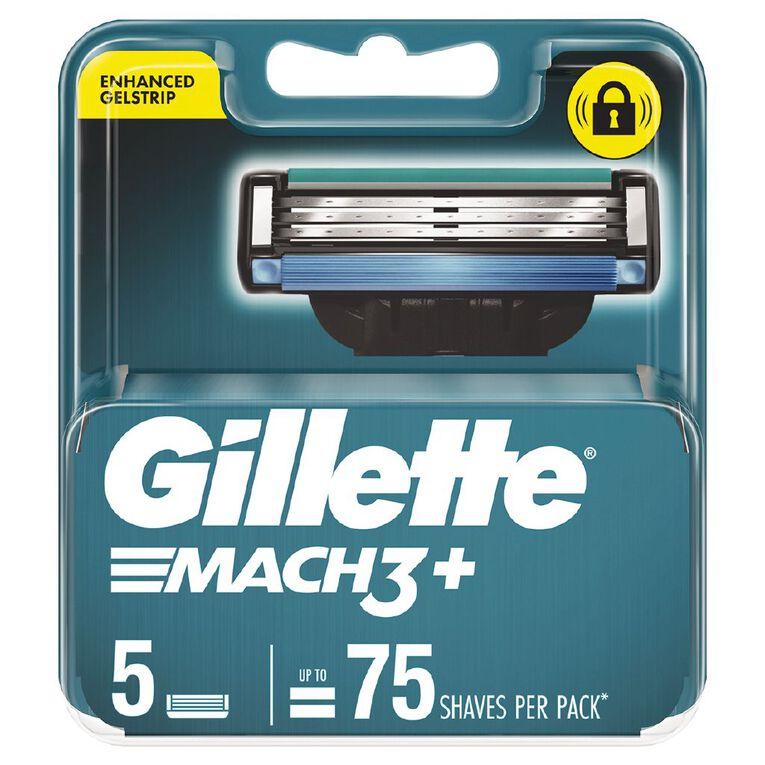 Gillette Mach3 Blades 5 Pack, , hi-res