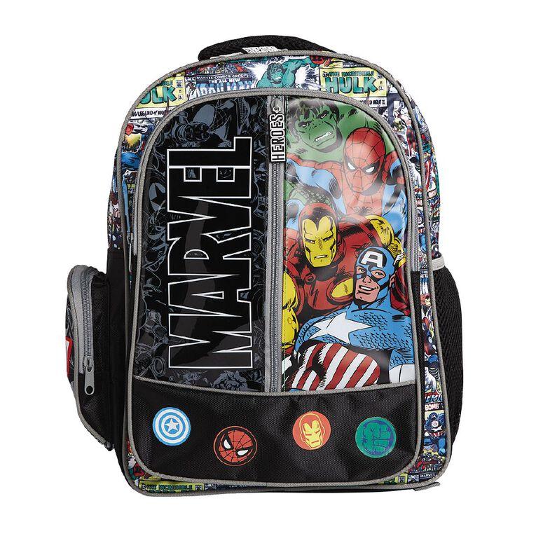 Marvel Backpack, Black, hi-res
