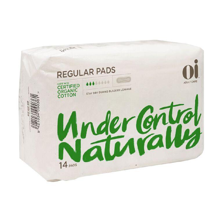 Oi Adult Care Regular Pads 14 Pack, , hi-res
