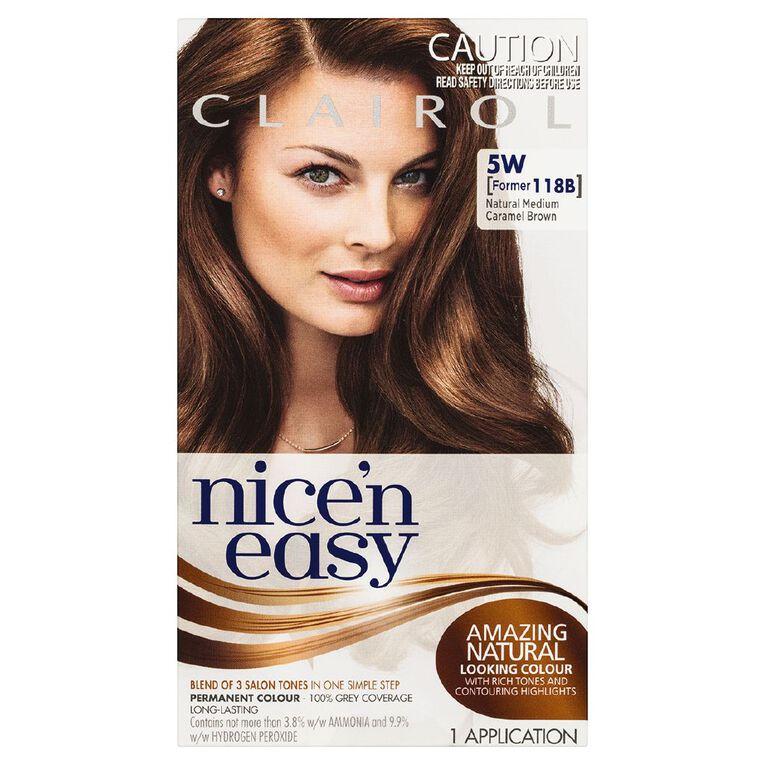 Nice 'n Easy Natural Med Caramel Brown 5W (formerly 118B), , hi-res