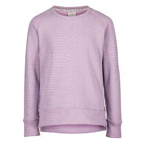Active Intent Girls' Side Zip Sweatshirt