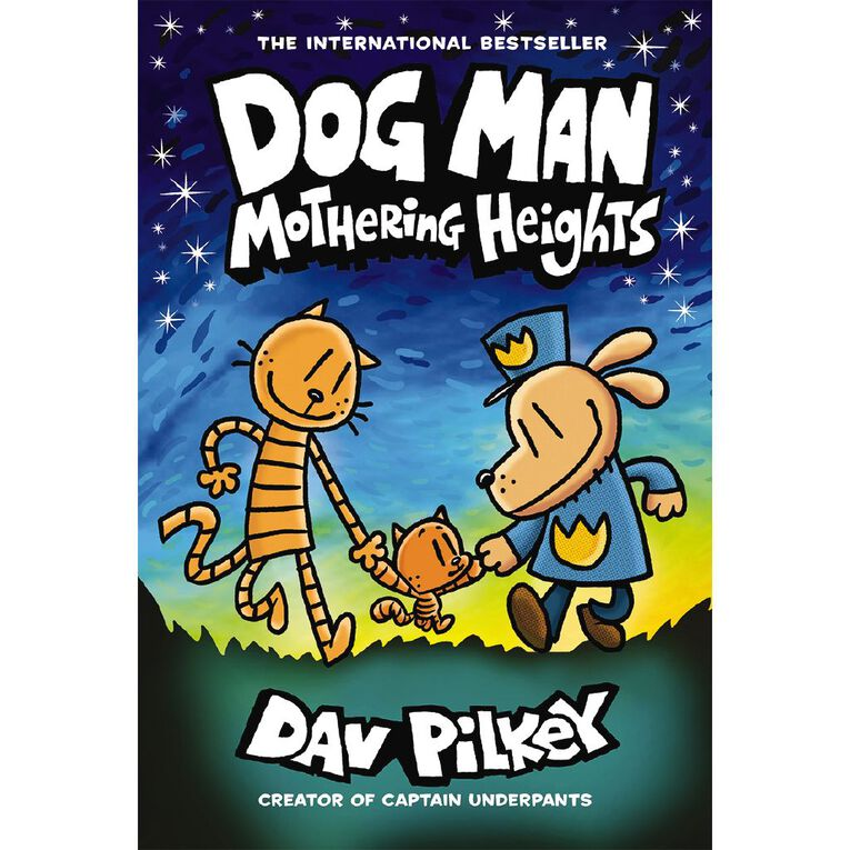 Dog Man #10 Mothering Heights by Dav Pilkey, , hi-res