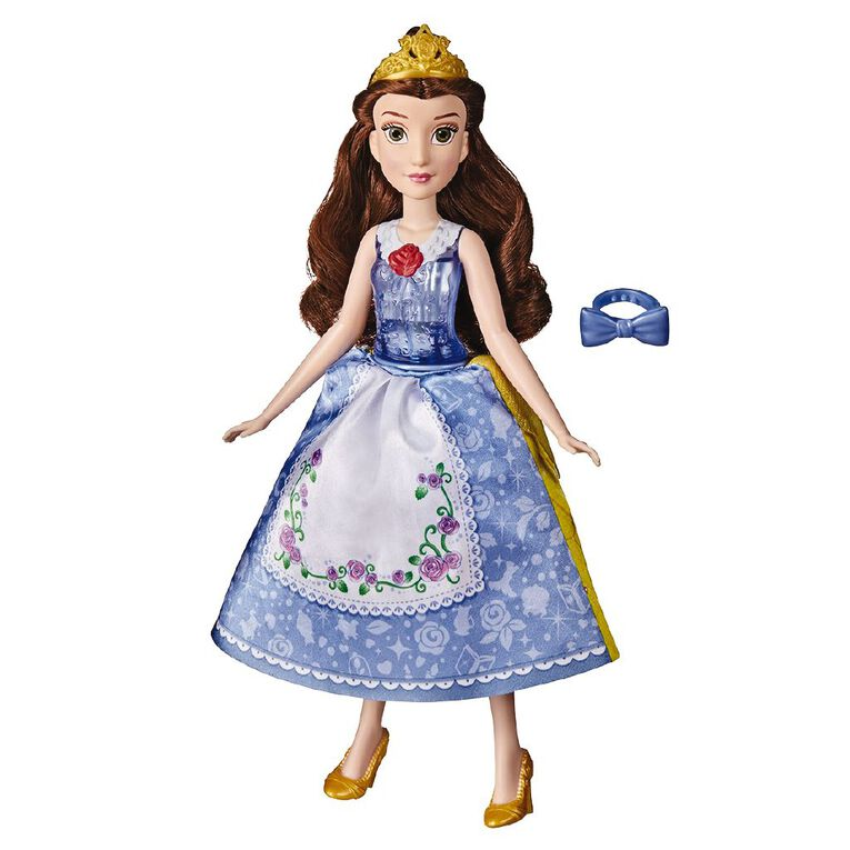 Disney Princess Spin and Switch Belle, , hi-res