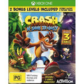 XboxOne Crash Bandicoot Trilogy