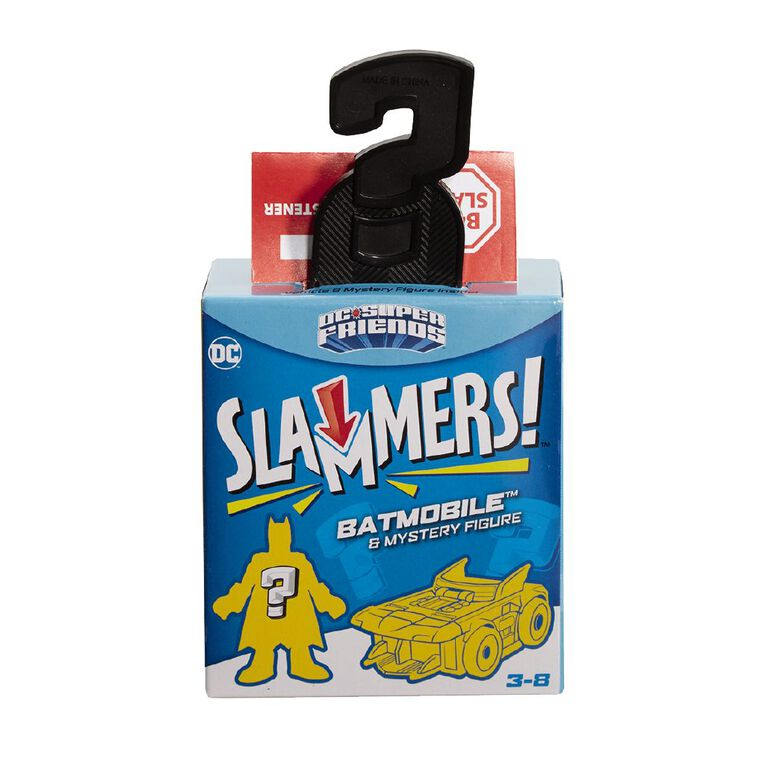 Fisher-Price Imaginext DC Friends Slammers Assorted, , hi-res