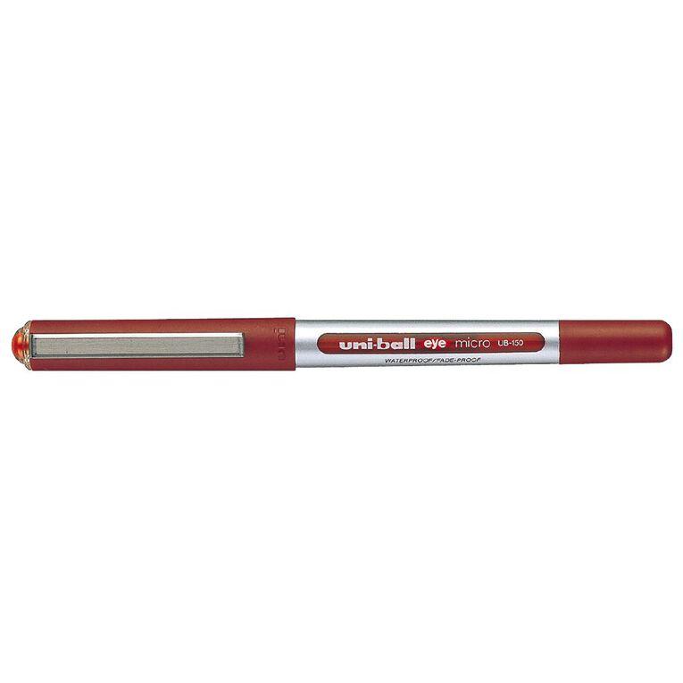 Uni-ball Eye Liquid Ink Rollerball 0.5 Red, , hi-res