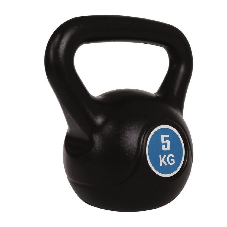 Active Intent Fitness Plastic Kettlebell 5kg, , hi-res