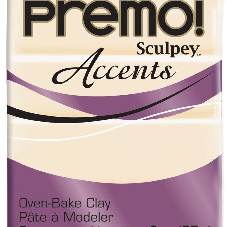 Sculpey Premo Accent Clay 57g Translucent, , hi-res