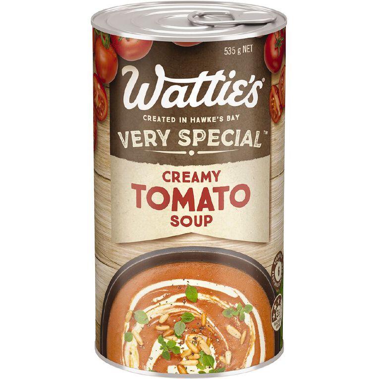 Wattie's Very Special Creamy Tomato Soup 535g, , hi-res