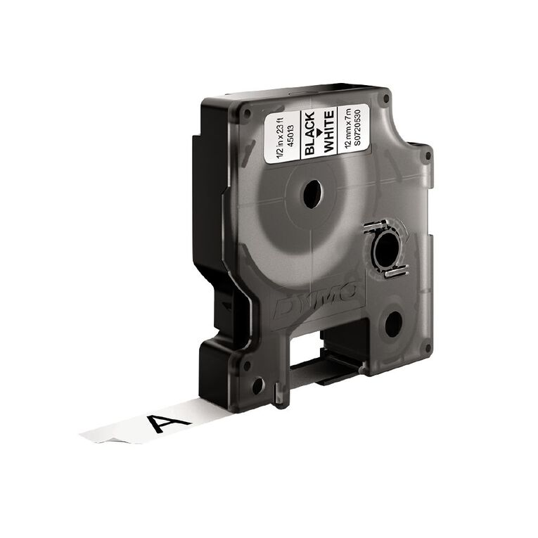 Dymo D1 Label Tape 12mm x 7m, , hi-res