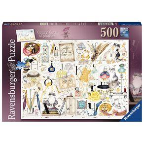 Ravensburger Crazy Cats Alphabet 500 Piece Puzzle
