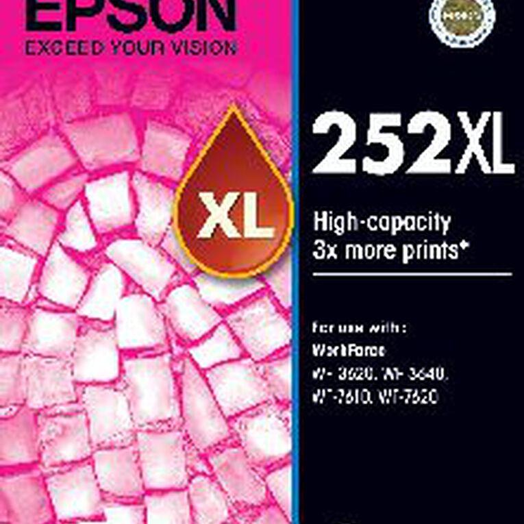 Epson Ink 252XL Magenta (1100 Pages), , hi-res
