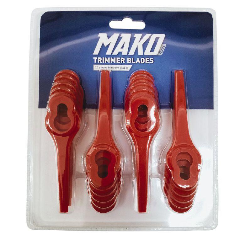 Mako Trimmer Blades 20 Pack, , hi-res