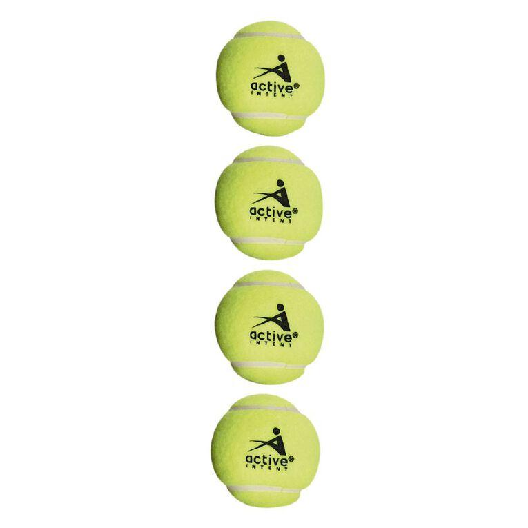 Active Intent Tennis Balls Premium 4 Pack, , hi-res