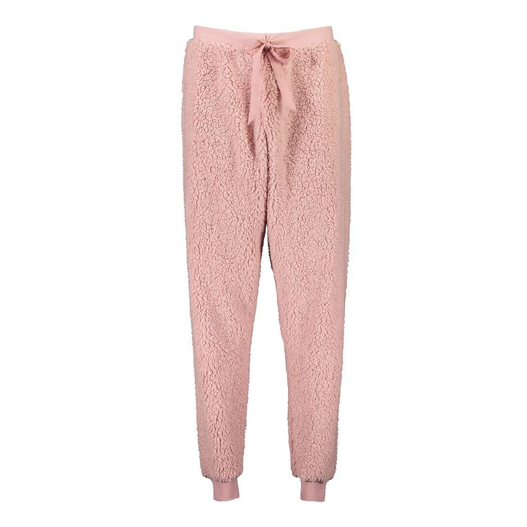 H&H Love Your Planet Women's Pyjama Pants, Pink, hi-res