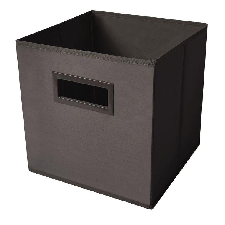 Living & Co Mason Cube Storage Insert Dark Grey, , hi-res