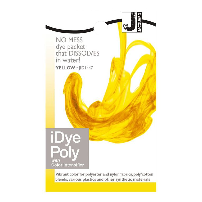 Jacquard iDye Poly 14g Yellow, , hi-res