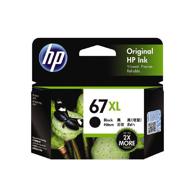 HP Ink 67XL Black (240 Pages), , hi-res