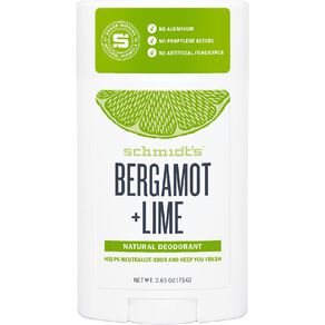 Schmidt Stick Deodorant Bergamont Lime 75g