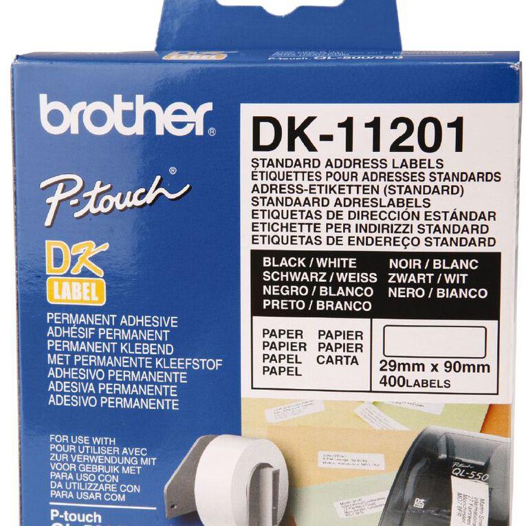 Brother Label Tape Dk11201 29mm x 90mm, , hi-res