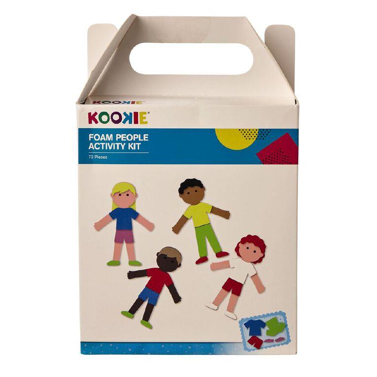 Kookie EVA Foam People Activity Kit, , hi-res