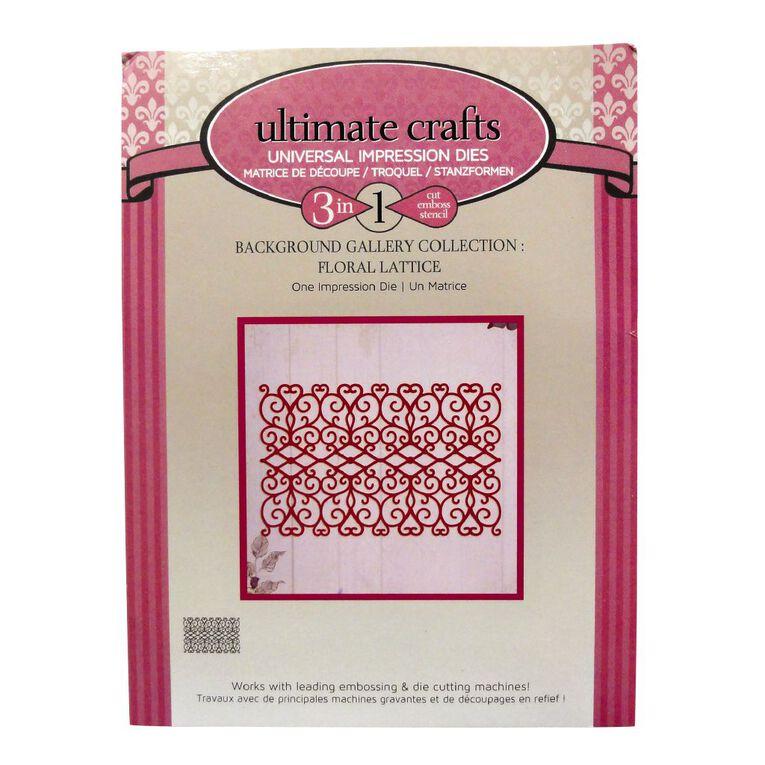 Ultimate Crafts Background Dies Assortment 1, , hi-res