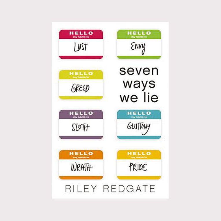 Seven Ways We Lie by Riley Redgate, , hi-res
