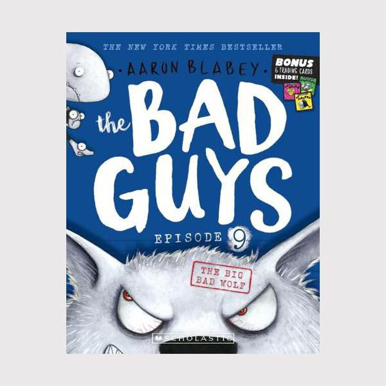 Bad Guys #9 The Big Bad Wolf by Aaron Blabey, , hi-res