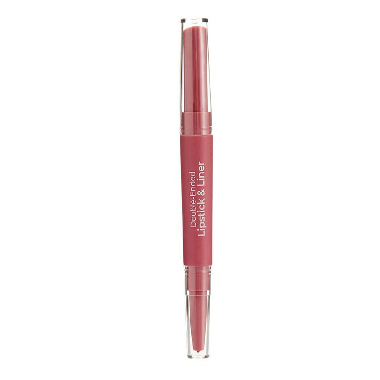 MCoBeauty Double-Ended lipstick & Liner Nude Mauve, , hi-res image number null