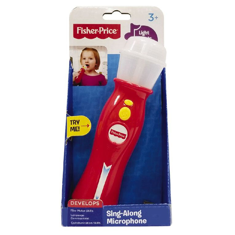 Fisher-Price Sing-Along Microphone, , hi-res