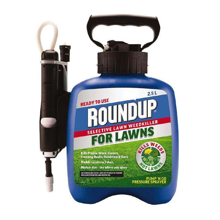 Roundup For Lawns 2.5 Litre Pump, , hi-res
