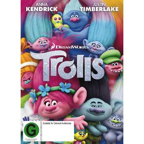 Trolls DVD 1Disc