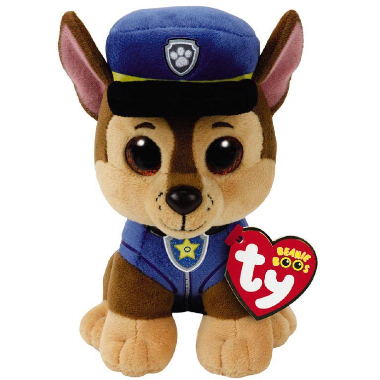 Paw Patrol TY Beanie Chase 15cm Plush, , hi-res