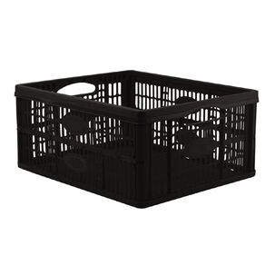 Collapsable Crate Black 46L
