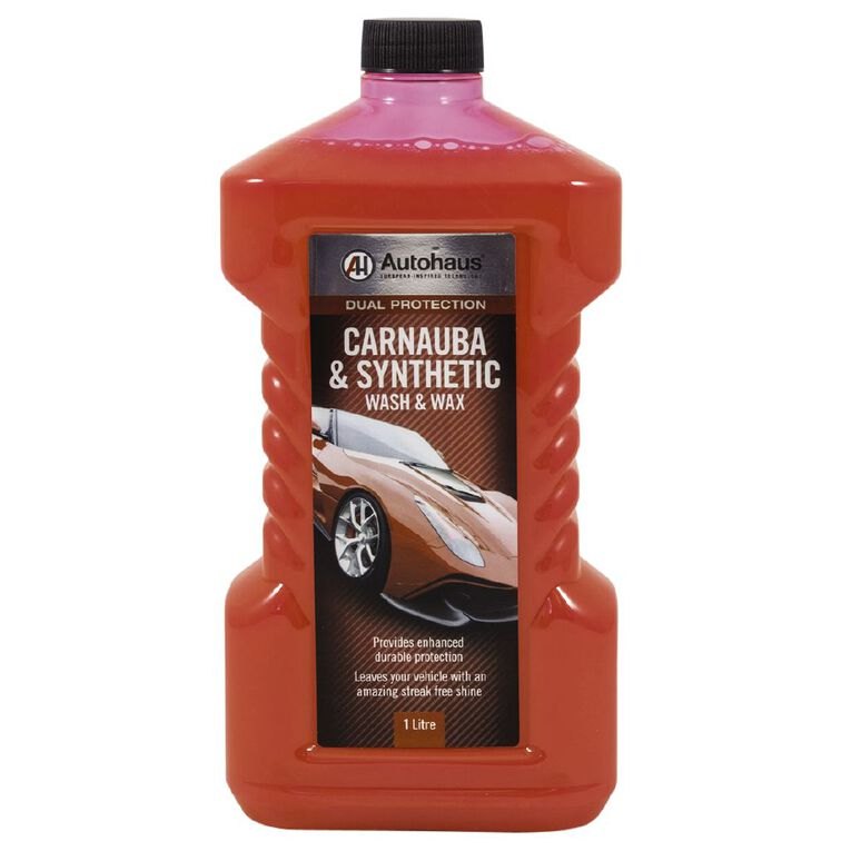 Autohaus Dual Protection Carnauba and Synthetic Wash and Wax 1L, , hi-res